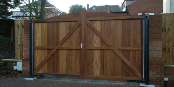 First Hinged Gate Image